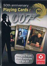 James Bond 50 Jahre 007 Películas 12 HASTA 22 Juego de Cartas en cartón plegable