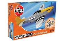Airfix J6016 - P-51D Mustang       Quick Build, Snap Together Plastic Kit