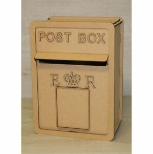 C12 Royal Mail Wedding POST BOX Mdf Craft Kit XX Large Post Box, Weddings Party