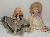 Vintage Hard Plastic Celluloid Dolls Storybook Doll