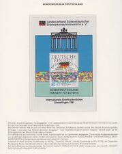 Australien Olympia Sydney 2000 - Ausstellungsblock Börse Sindelfingen 1991