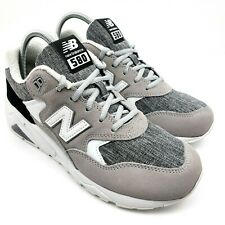 New Balance NB 580 High Mens  Size 8 MRT580CF White gray Suede Running Shoes