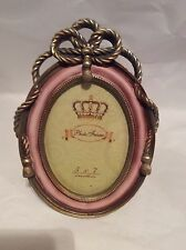 Pink And Gilt Finished Wood Photo Frame