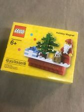 Lego Christmas Santa Tree Magnet Mini figure 2014 Holiday Seasonal 853353 New