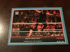 2015 Topps WWE Road to Wrestlemania Silver #25 - Seth Rollins