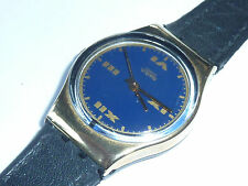 vintage Watch MONTRE suisse swiss 1990 SWATCH uhr SWITZERLAND chiffre romain