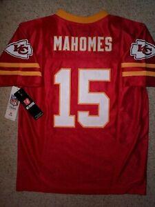 (2020-2021) Kansas City Chiefs PATRICK MAHOMES Jersey YOUTH KIDS BOYS (L-LARGE)