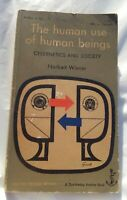 NORBERT WIENER - THE HUMAN USE OF HUMAN BEINGS - CYBERNETICS AND SOCIETY, SOFTCO