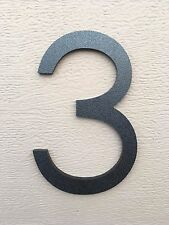 4 inch Magnetic Modern house numbers for doors, mailboxes, color choices