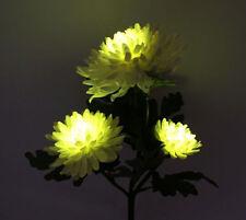 Solar LED light Chrysanthemum flower for Outdoor Garden Yard Landscape