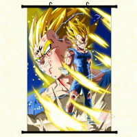 Anime Dragon Ball Z Vegeta Wall Scroll Poster Home Decor Art Cos Painting #35