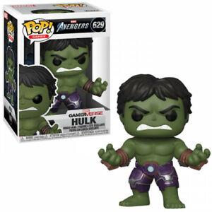 Funko Pop Marvel Avengers Game Hulk Stark Tech Suit