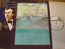 SDD 322 Brahms String Quartets Op. 51 Nos. 1 & 2 / The Weller Quartet