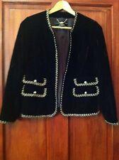 Womens Velvet Suit Size 11 Brownish SCHEIBLER See Measurements B16