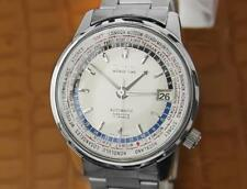 Seiko World Time Ref 6217-7000  Automatic Vintage Japanese Made Watch 086