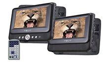 Dvd Portátil 7'' dos pantallas Nevir Nvr-2772dvd-pdcu