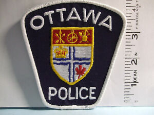 police patch   OTTAWA POLICE ONTARIO CANADA