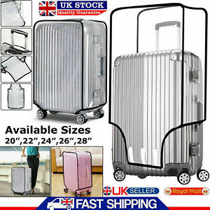 Transparent Luggage Protector PVC Suitcase Travel Cover 20''22''24''26''28'' Bag