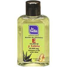 La Bella Professional Formula Vitamin E Oil with Aloe 2.5 oz