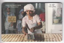AFRIQUE TELECARTE / PHONECARD .. ILE MAURICE 115U BISCUITS METIER 2001 CHIP/PUCE
