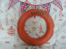 "22"" náutica Marítimo Lifebuoy ""Osprey"" colgante de pared Utilería pantalla Free UK Post"