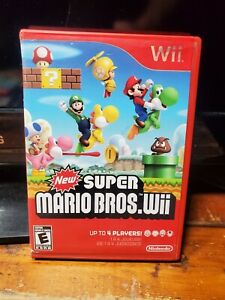 New Super Mario Bros. Wii (Wii, 2009) Complete