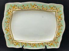 "Royal Winton Grimwades ""Acton"" Rectangular Art Deco Serving Platter,  13"" long."