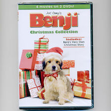 4 Benji Christmas dog movies, new DVDs, Patsy Garrett, Cynthia Smith, Ron Moody