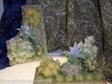 Seraphim Flower Beds 2pc # 81834 Display w/ Ur Angels * Free Usa Shipping