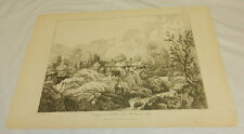 1810 Antique Print/COTTAGE AT NEBTHIT WITH BACKBARROW CRAG, CUMBERLAND ENGLAND