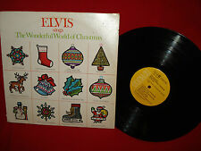 Elvis Sings the Wonderful World of Christmas - 1971 LP Record Album