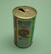 KANSAS CITY CHIEFS CANADA DRY GINGER ALE CAN