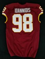#98 Matt Ioannidis of Washington Redskins NFL Locker Room Game Issued Jersey
