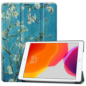 """For iPad 10.2"""" 7th Gen 2019 Magnet Flip Leather Stand Case Cover Auto Sleep/Wake"""
