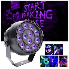 12 LED UV Black Light Par Can KTV Disco Party Bar Effect Stage Lighting Lamp