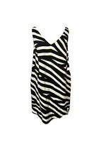 Witchery Womens Size 16 Shift Dress Black And White