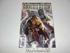 Annihilation #3 Comic Marvel 2006 Silver Surfer Drax Nova Ronin Gamora Guardians