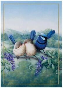 Maxwell & Williams Birds of Australia 10 Year Anniversary Tea Towel Fairy Wren
