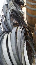12 Used Wine Barrel Hoop Bands (Dozen) - LOCAL PICKUP ONLY!