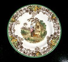 Beautiful Copeland Spode Byron Green Trim Salad Plate