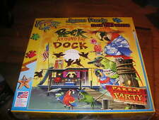 Rock around the Dock puzzle parrot house boat party