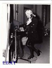 Lana Turner candid on set VINTAGE Photo Tribute To A bad Man