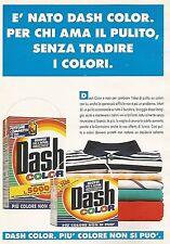 X0273 DASH color - Pubblicità 1992 - Vintage Advert