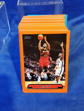 1999-00 Topps Series 1 Basketball Set #1-110 - NBA