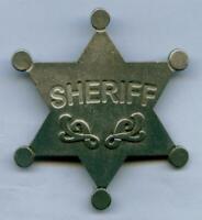 Sheriff Stern  Western Cowboy Sheriffstern Deputy Marshal