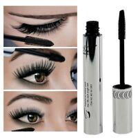 New Waterproof Black Mascara Fiber Eyelash Extension Curling Length Thick Makeup