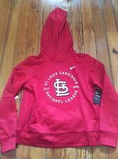 NEW Nike St. Louis Cardinals Women's Hoodie Sweatshirt - Sz M Medium