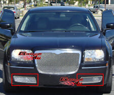 Fits Chrysler 300 Bumper Stainless Steel Mesh Grille Grill Insert 2005-2010