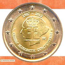 Sondermünzen Belgien: 2 Euro Münze 2012 Musikwettbewerb zwei€ Sondermünze