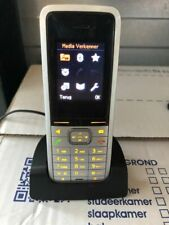 ✅☎ Siemens Unify OpenStage SL4 SL 4 dect ZILVER with accu, clip and charger